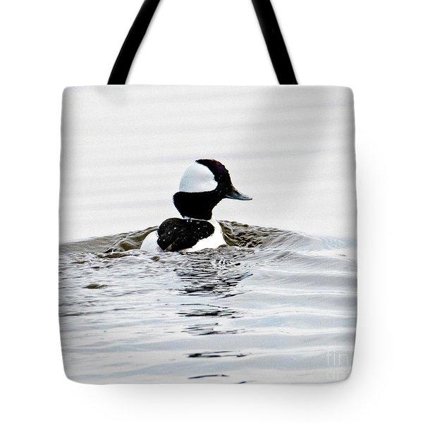 Bufflehead Drake Tote Bag