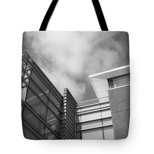 Building Lines Tote Bag