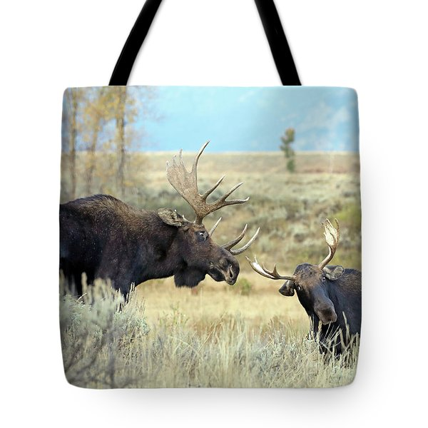 Bull Moose Challenge Tote Bag