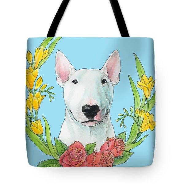 Bull Terrier Ivan Tote Bag