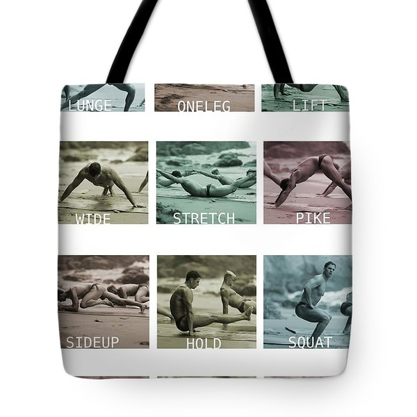 Bum Fit Beach Workout  Tote Bag
