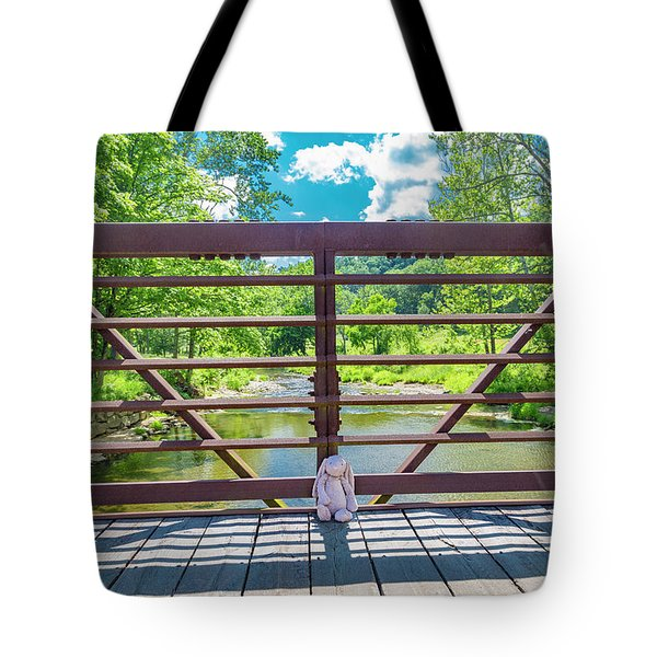 Bunny At The Greenbrier Golf Course West Virginia Tote Bag