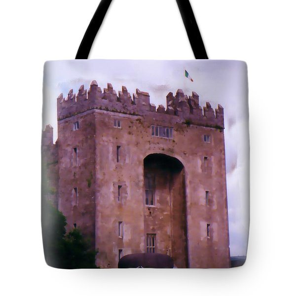 Bunratty Castle Painting Tote Bag