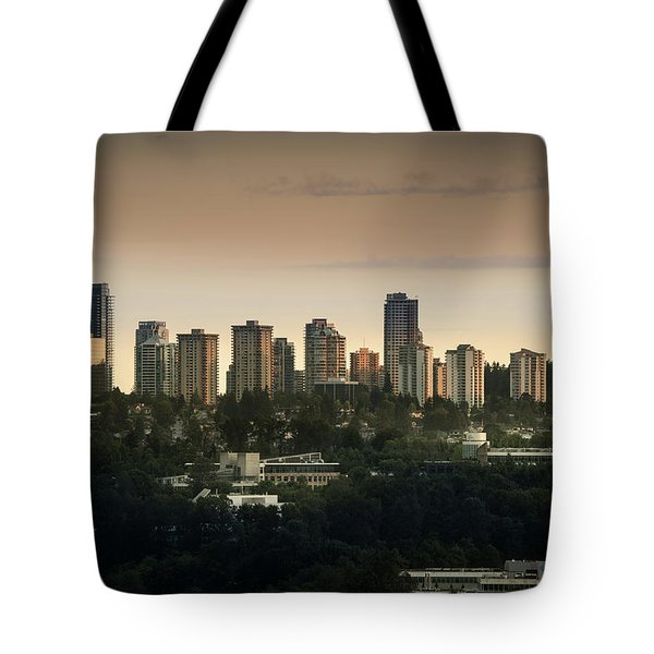 Burnaby Dusk Tote Bag