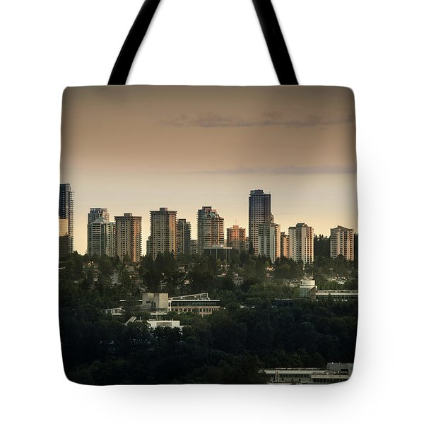 Burnaby Dusk Tote Bag