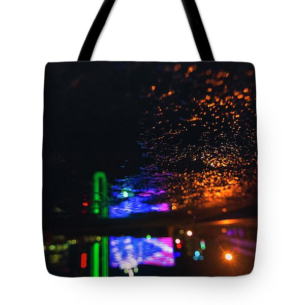 Burning Banner Tote Bag