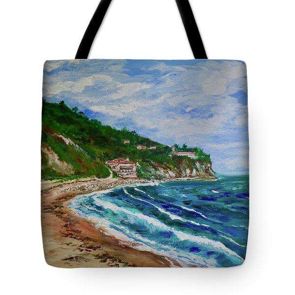 Burnout Beach, Redondo Beach California Tote Bag