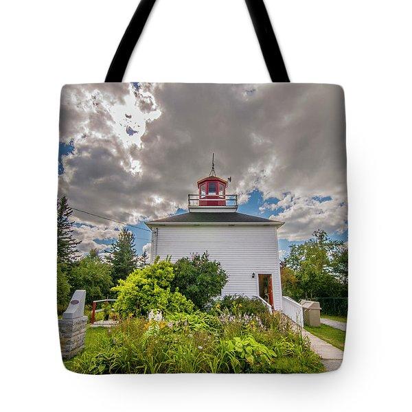 Burntcoast Head Lighthouse  Tote Bag