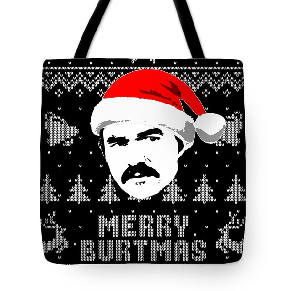 Burt Reynolds Christmas Shirt Tote Bag