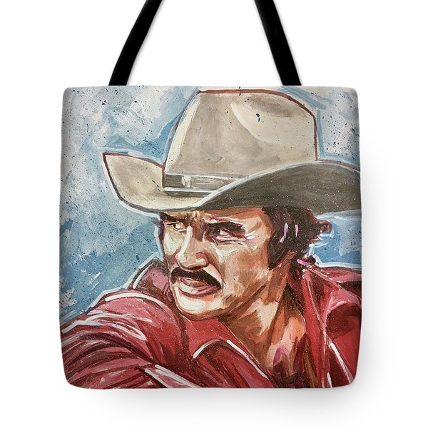 Burt Reynolds Tote Bag