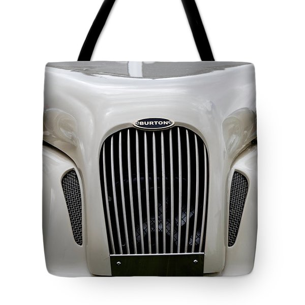 Tote Bag featuring the photograph Burton by Anjo Ten Kate