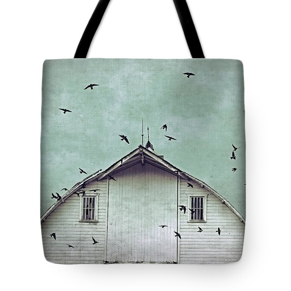 Busy Barn Tote Bag
