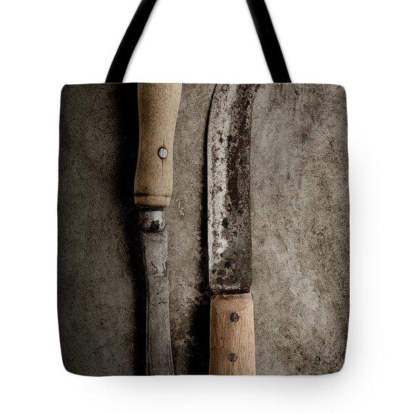 Butcher Knives Tote Bag