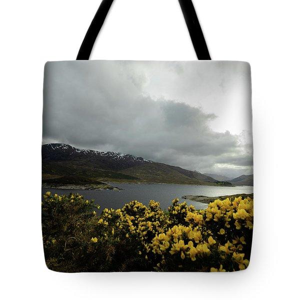 Buttercream Solitude Tote Bag