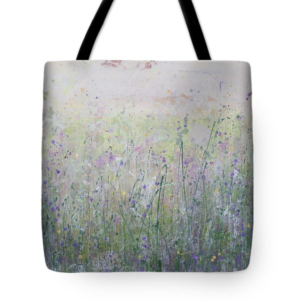 Buttercups And Bluebells Tote Bag