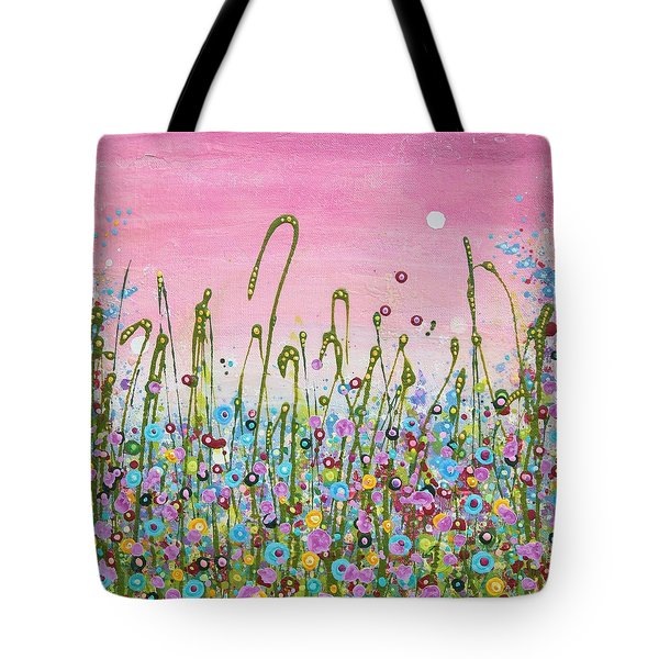 Buttercups And Lilacs Tote Bag