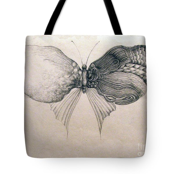 Butterfly For Jeffrey Tote Bag