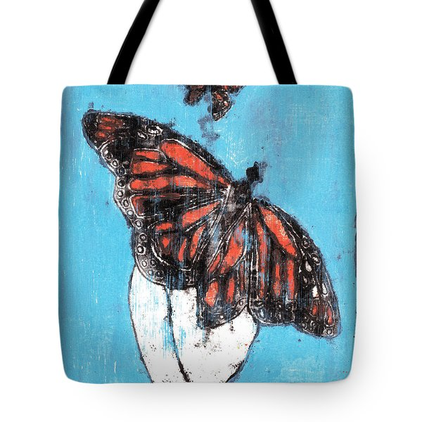 Butterfly Garden Summer 1 Tote Bag