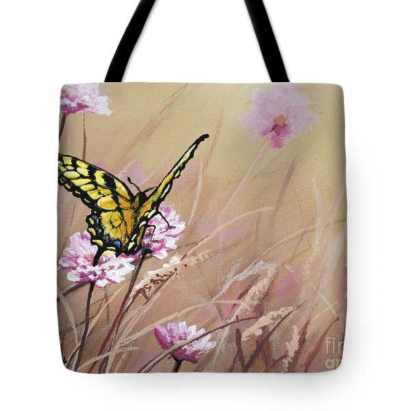 Butterfly Meadow - Part 1 Tote Bag