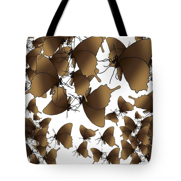 Butterfly Patterns 1 Tote Bag
