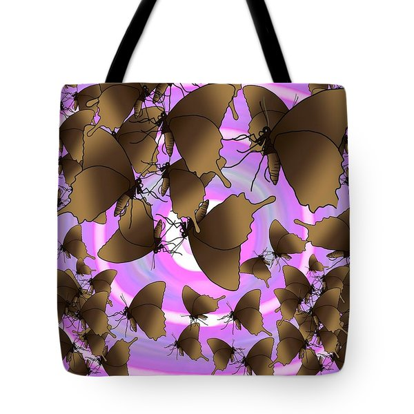 Butterfly Patterns 10 Tote Bag