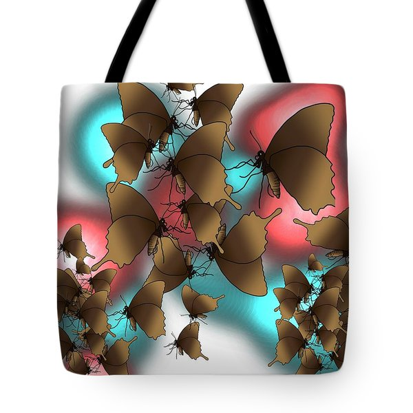 Butterfly Patterns 11 Tote Bag