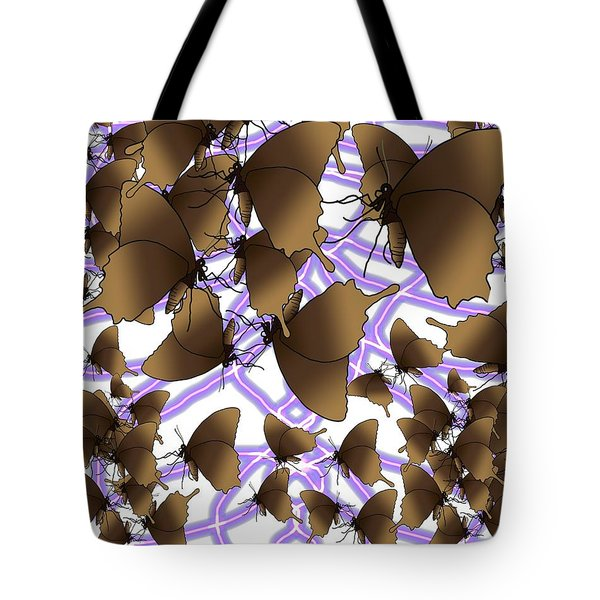 Butterfly Patterns 12 Tote Bag