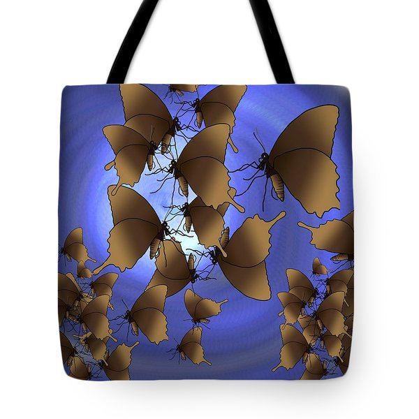 Butterfly Patterns 13 Tote Bag
