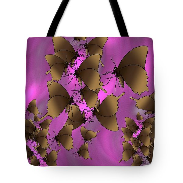 Butterfly Patterns 17 Tote Bag
