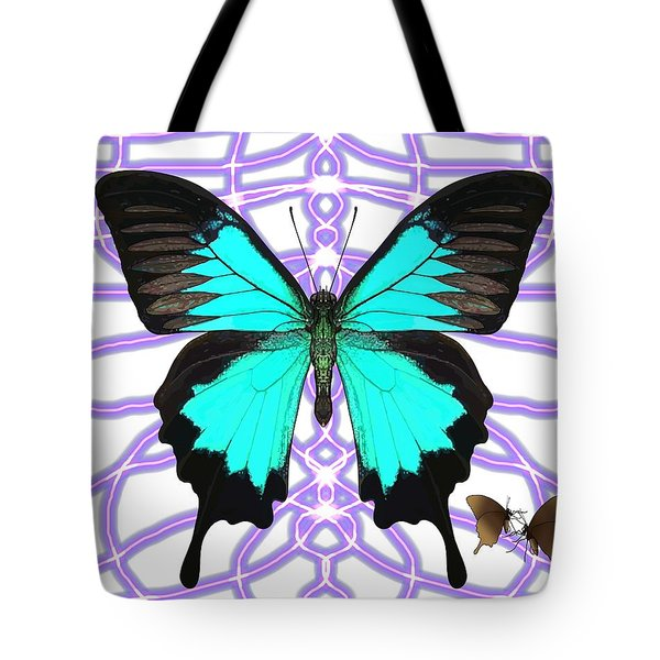 Butterfly Patterns 18 Tote Bag