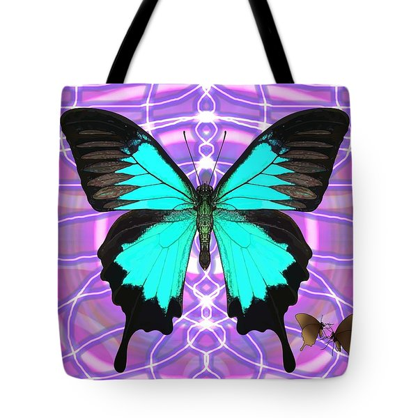 Butterfly Patterns 19 Tote Bag