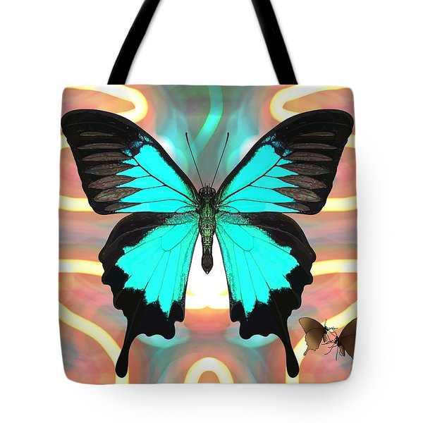 Butterfly Patterns 21 Tote Bag