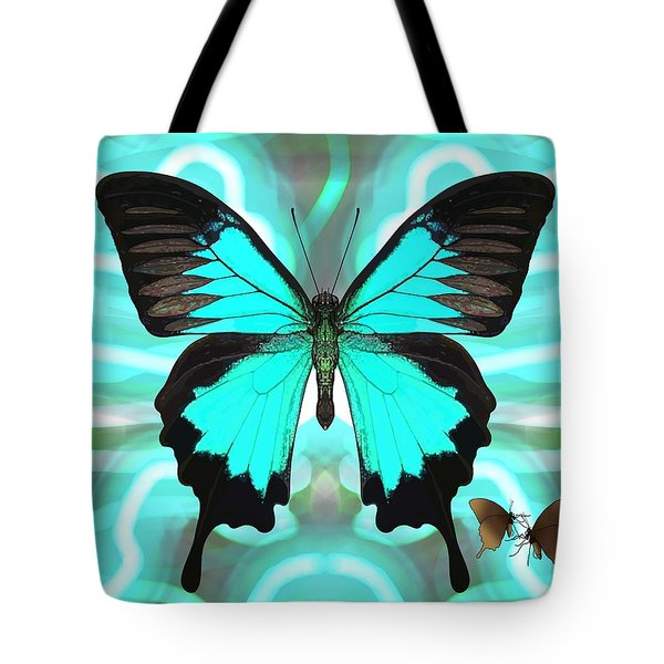 Butterfly Patterns 22 Tote Bag