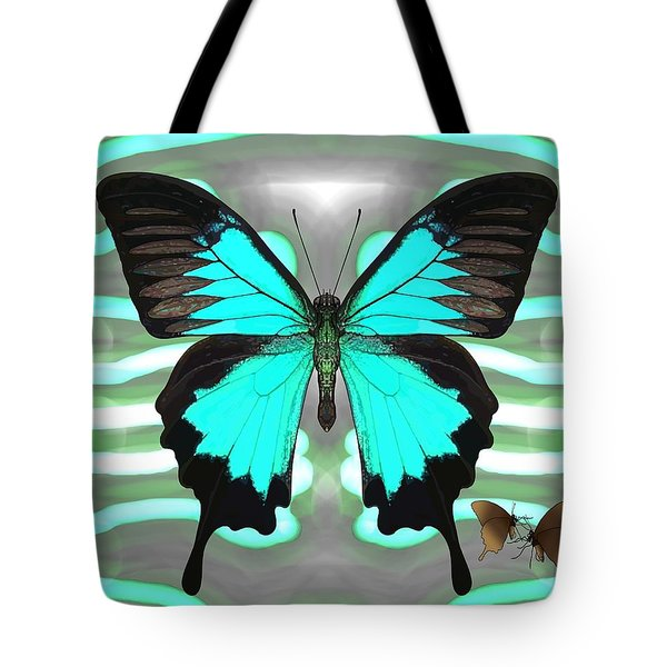 Butterfly Patterns 24 Tote Bag