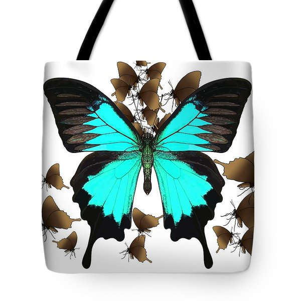 Ulysses Butterfly All A Flutter Tote Bag