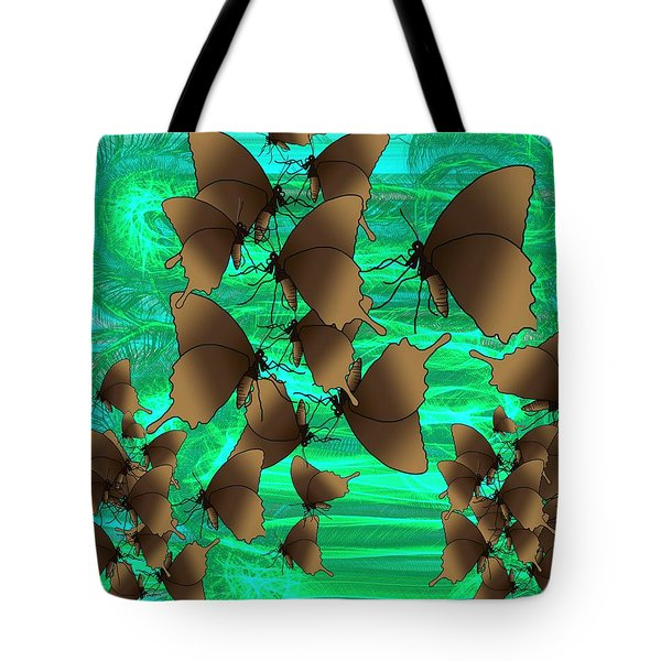 Butterfly Patterns 3 Tote Bag