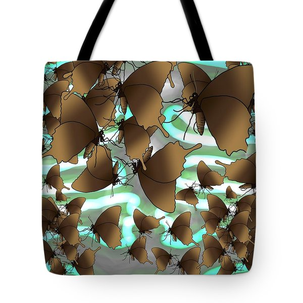 Butterfly Patterns 4 Tote Bag