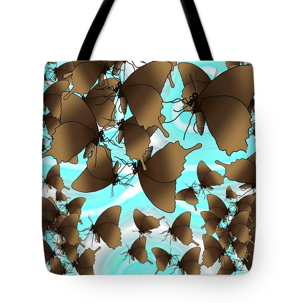Butterfly Patterns 6 Tote Bag
