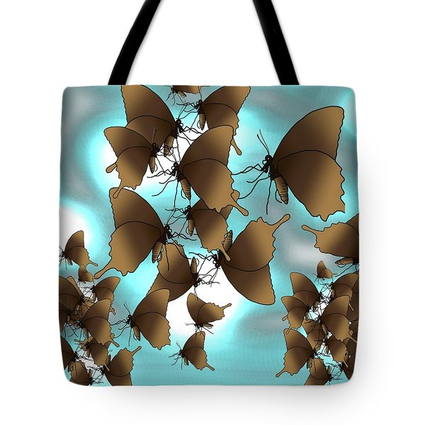 Butterfly Patterns 7 Tote Bag
