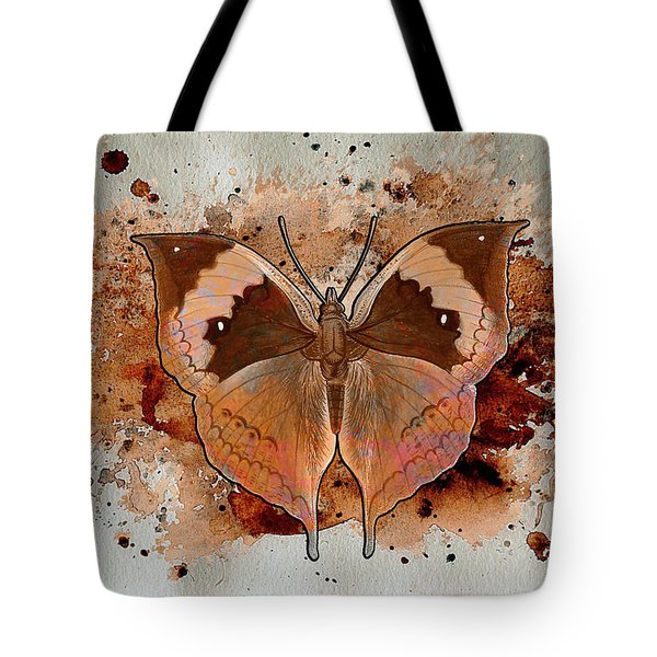 Butterfly Splash Tote Bag