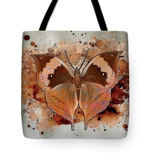 Butterfly Splash Tote Bag