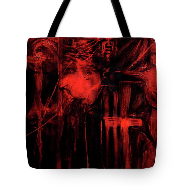By Way Of The Holy Tote Bag