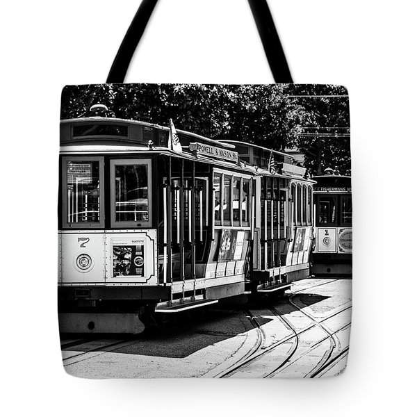Cable Cars Tote Bag