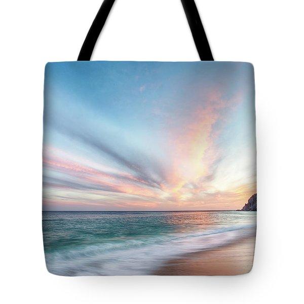 Cabo San Lucas Beach Sunset Mexico Tote Bag