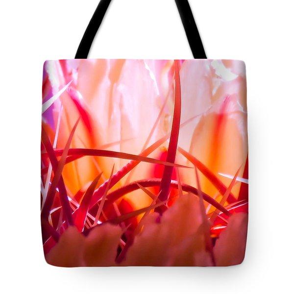 Cactus Cathedral Tote Bag