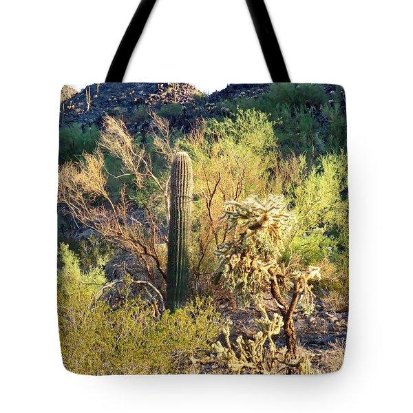 Cactus Kingdom Tote Bag
