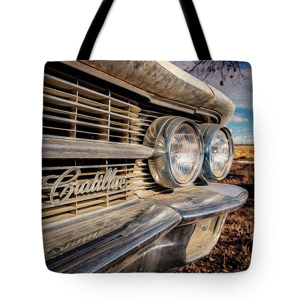 Cadillac Eyes Tote Bag