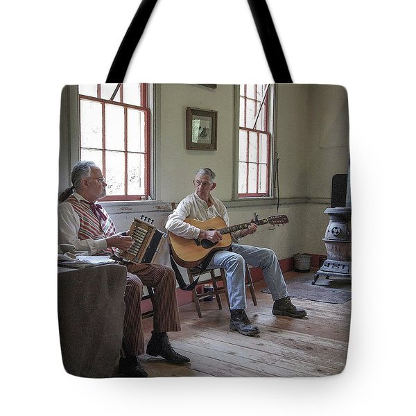 Tote Bag featuring the photograph Cajuns by Jim Mathis