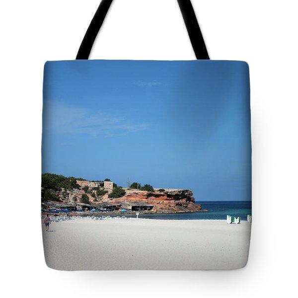 Cala Saona, Formentera Tote Bag