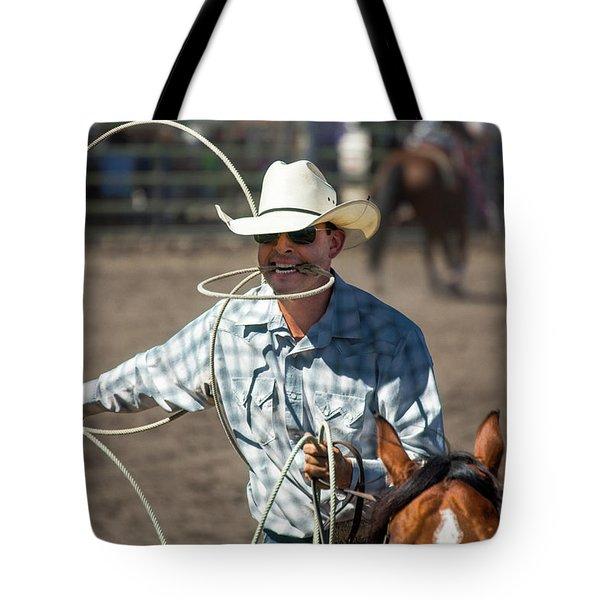 Calf Roper Tote Bag